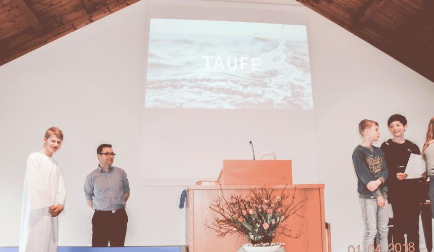 Ostersonntag Gottesdienst mit Taufe
