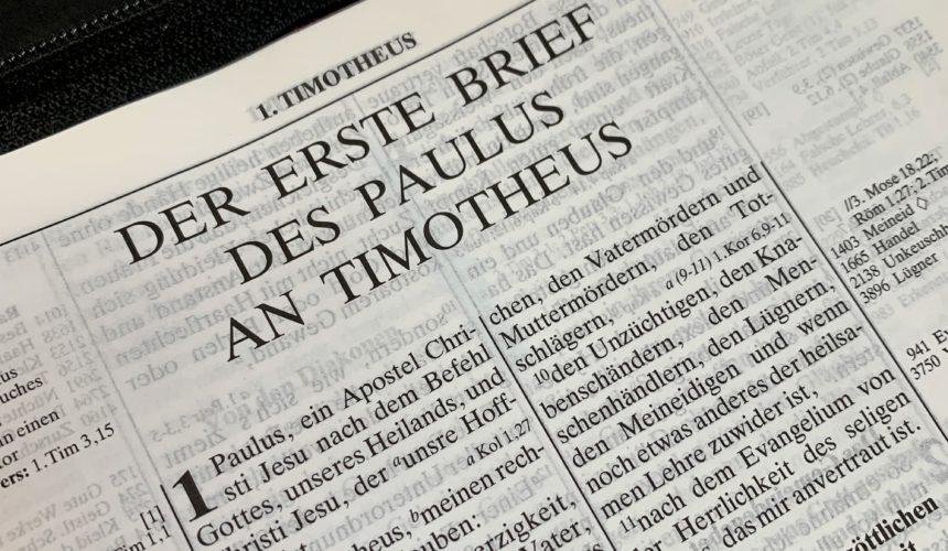 Timotheus Brief